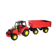 Трактор «Мастер», с прицепом №1, цвета МИКС фото