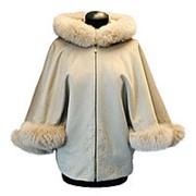 Эксклюзивное пальто с мехом фото
