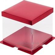 Коробка для торта прозрачная фото