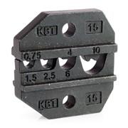 Номерные матрицы для опрессовки неизолированных медных наконечников и гильз фото