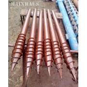 Винтовые сваи многовитковые длиной 2,5м диаметром 89 мм. новые. фото