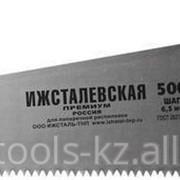 Ножовка ИЖ ПРЕМИУМ по дереву с двухкомпонентной пластиковой рукояткой, шаг Код: 1520-50-06_z01 фото