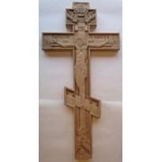 Дубовый крест выносной фото
