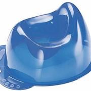 Горшок прозрачный голубой Нук Арт.: 159424 фото