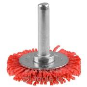 Щетка Зубр Эксперт дисковая для дрели, полимерно-абразивная, 38мм Код:35161-038_z01 фото