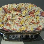 Кресло с подушкой Papasan Oval фото