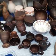 Посуда из глины ручной работы фото