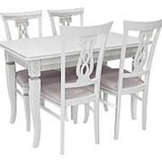 Обеденная группа для столовой и гостиной Мебель Импэкс Обеденная группа Дакота+Юта фото
