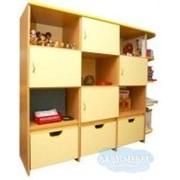 Шкаф для наглядных пособий Арлекино фото