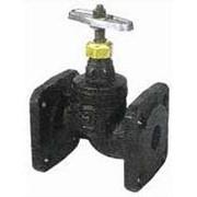 Клапана запорные проходные чугунные фланцевые (вода, пар t от 0 до 225 Сº, РУ 10 кгс/см2). фото