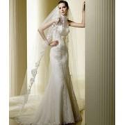 Силуэтные свадебные платья фото