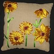 Декоративные подушки ручной работы фото