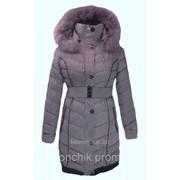 Пальто зимнее с манжетом 1206 фото