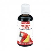 Витамины, лакомства для птиц ВИТАМИНЫ БЕАФАР Trink+Fir Birds Д/ПТИЦ 50МЛ 11620 фото