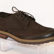 Туфли мужские коричневые Faber 113311 фото