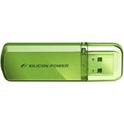 4Gb Helios 101 Silicon Power USB-флеш накопитель, USB 2.0, SP004GBUF2101V1N, Зелёный фото