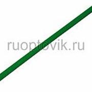 3. 5 / 1. 75 мм 1м термоусадка зеленая REXANT фото