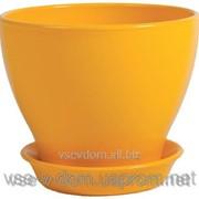 Горшок керамический Ксения Яркий д.39 фото