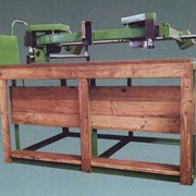 Станок копировально-фрезерный деревообрабатывающий двухшпиндельный с пантографом модели ЛД-1100 фото