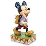 "Статуэтка ""Микки Маус ученик (Ученье - свет!)"" 7,5х14х5,5см. арт.4051995 Disney фото"