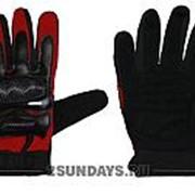 Детские перчатки для мотокросса SEEKWIN с кулаком S красные фото