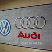Коврики с логотипом фото