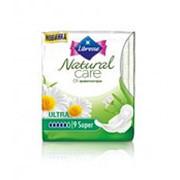 Прокладки LIBRESSE Natural Care Ultra Super, 9шт фото