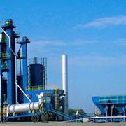 Установки асфальтосмесительные ДС-168М (башенная) - 160 т/ч фото