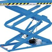 Высокоподъемный стол с двумя парами ножниц КТ фото
