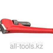 Ключ трубный разводной Зубр, Сr-V, 300мм / 1,5 Код: 27339-1 фото