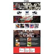 Создание 5-страничного сайта-визитки. фото
