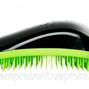 Расческа для волос Dessata Original Black-Lime фото