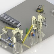 Оборудование для брикетирования, оборудования для линий по производству твердого биотоплива фото