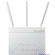 Интернет-шлюз Asus RT-AC68U_W 802.11ac AC1900 Двухдиапазонный, Гигабит, USB 3.0, AiCloud, White фото