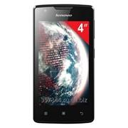 "Смартфон LENOVO A1000, 4"", 2 SIM, 3G, 0,3/5 Мп, 8 Гб, microSD, черный, пластик,262087 фото"