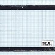 Сенсорное стекло (тачскрин) DP101226-F1 черное, Диагональ 10.1 фото