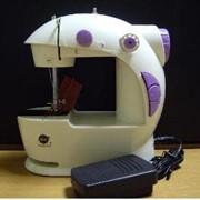 Машинка настольная маленькая швейная Фея фото