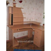Стол угловой с тумбами фото