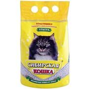 Наполнитель Сибирская кошка Ультра 3л фото