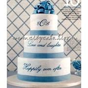 Торт свадебный №0099 код товара: 1-0099 фото