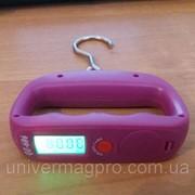 Весы электронные, кантер до 50 кг с LCD дисплеем фото