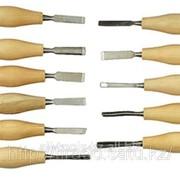 Набор Stayer Стамески фигурные мини с деревянной ручкой, 11шт Код: 1834-H11 фото