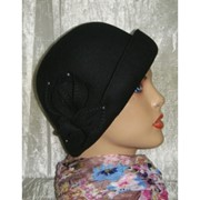 Шляпа ретро фетр 90-1 фото