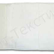 Полотенце белое (40*70) фото