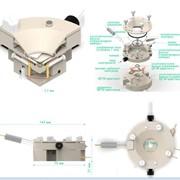 Проточная EQCM - ячейка для рамановской спектроскопии фото