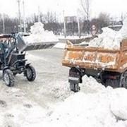 Вывоз снега на заказ фото