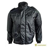 Куртка Прокуратура демисезонная иссиня-черная фото