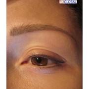 Перманентный макияж верхних век (стрелочка) фото