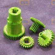 Шестерни, детали, запчасти и комплектующие для оргтехники, 3D печать фото