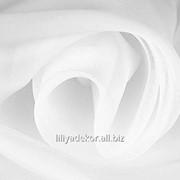 Ткань Вуаль цвет белый фото